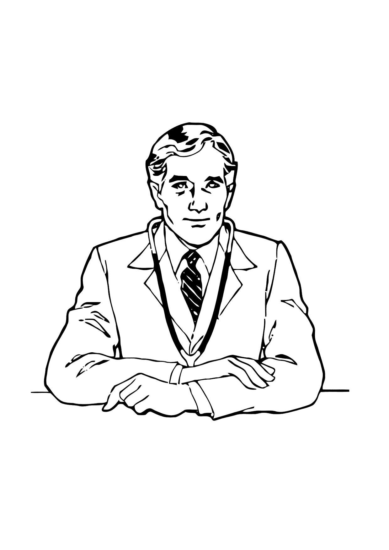 Dibujo Para Colorear Médico Dibujos Para Imprimir Gratis