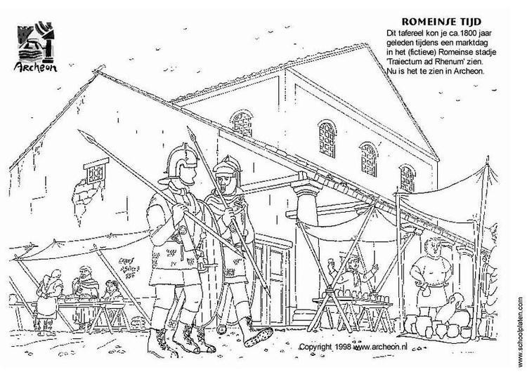 Dibujo para colorear mercado img 3223 for Disegni della roma da colorare