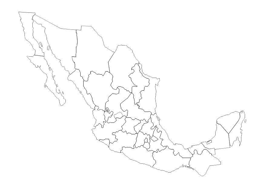 Dibujo para colorear México - Img 10694