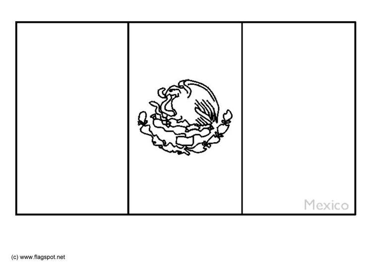 Dibujo para colorear México - Img 21872