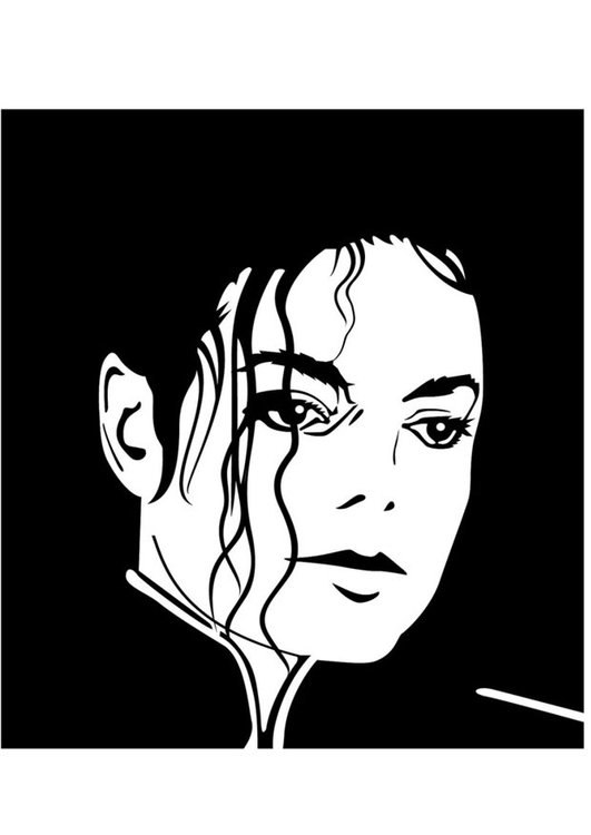 Dibujo Para Colorear Michael Jackson Dibujos Para Imprimir Gratis Img 24732