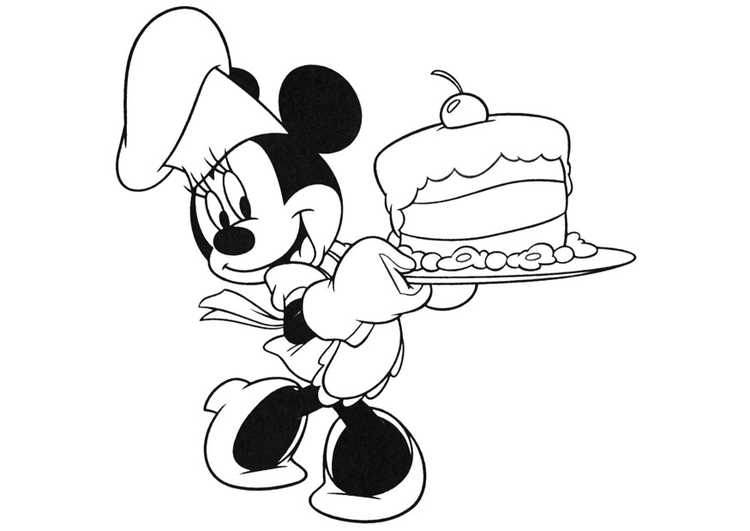Dibujo Para Colorear Minnie Mouse Img 20740 Images