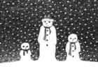 Dibujo para colorear Muñecos de nueve