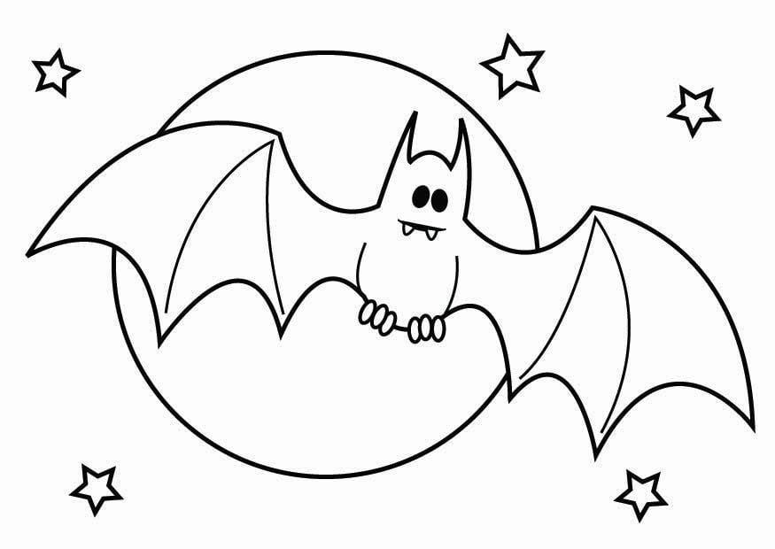 Dibujo para colorear murci lago de halloween img 26436 - Dibujos de halloween ...