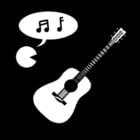Dibujo para colorear Música - cantar e instrumentos