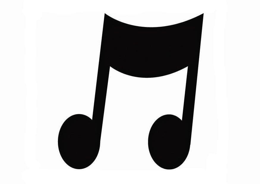 Dibujo Para Colorear Música Img 26725