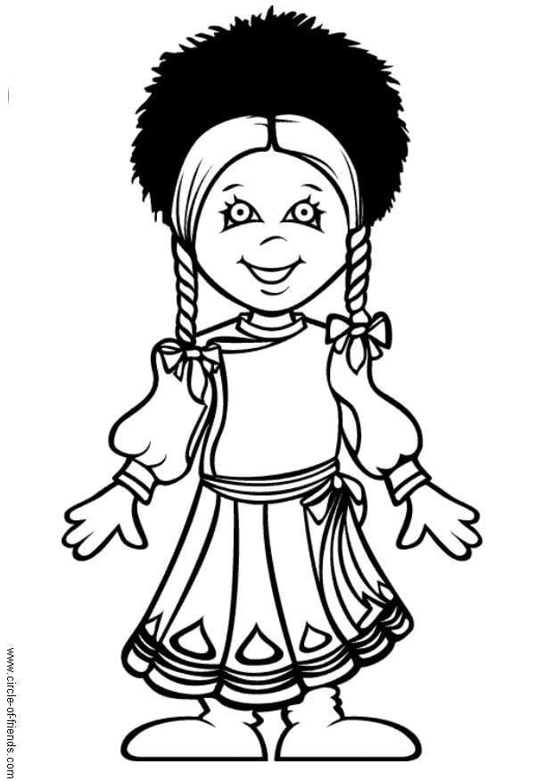 Kleurplaat Wc Dibujo Para Colorear Natasha De Rusia Dibujos Para