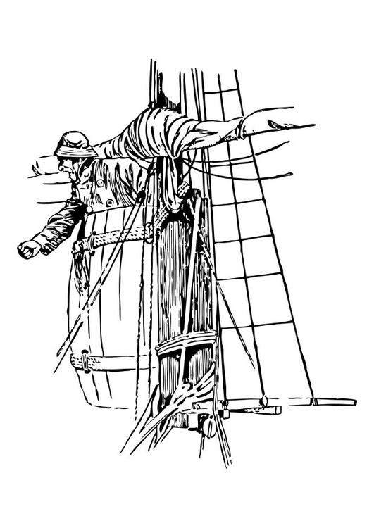 Dibujo Para Colorear Nido De Cuervo Img 10509