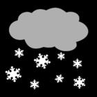 Dibujo para colorear Nieve