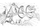 Dibujo para colorear Odisea - ilustración