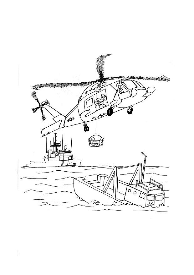 coast guards coloring pages - photo#17