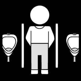 Dans les toilettes de l avion - 2 part 1