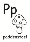 Dibujo para colorear p