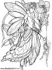 Dibujo para colorear Palito de elfo