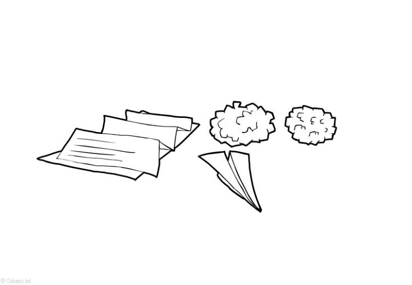 Dibujo para colorear papel y cart n img 14409 - Papel de pintar ...