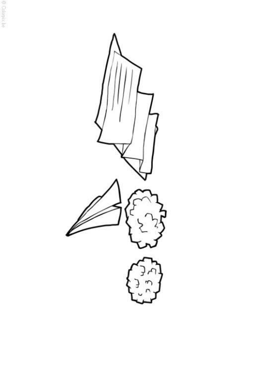 Dibujo para colorear papel y cart n img 15065 - Papel de pintar ...