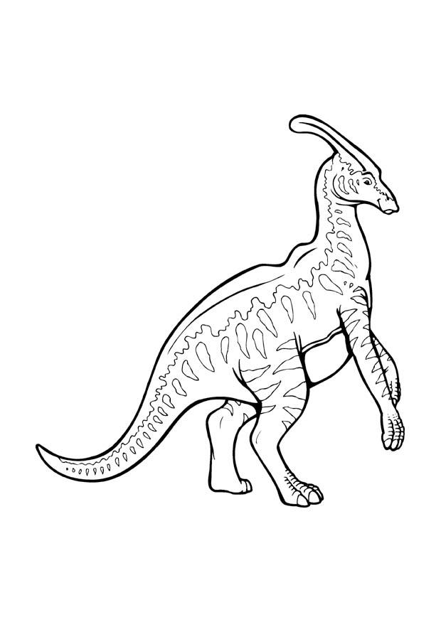 Dibujo Para Colorear Parasaurolophus Img 9375 Images
