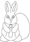 Dibujo para colorear Pascua