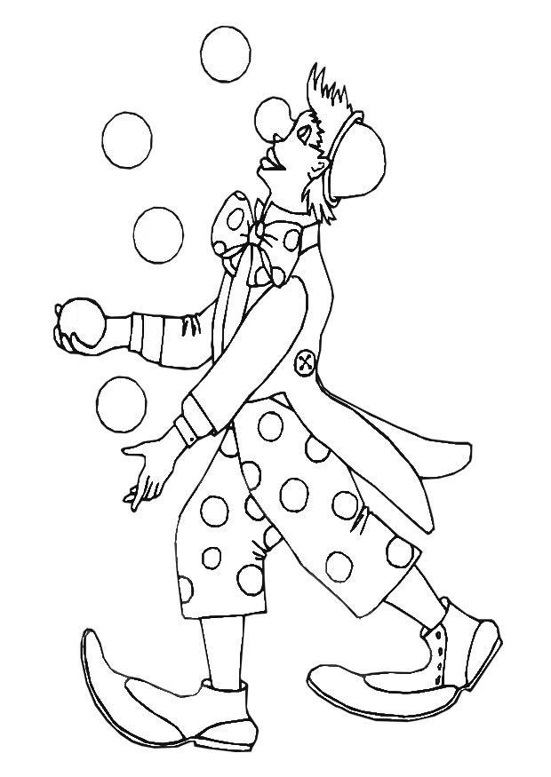 Dibujo para colorear payaso img 28868 for Disegno pagliaccio da colorare