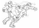 Dibujo para colorear Pelea - lucha