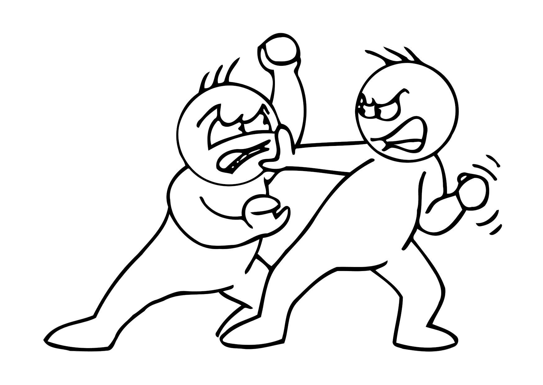 Hermosa Taekwondo Para Colorear Adorno - Dibujos Para Colorear En ...