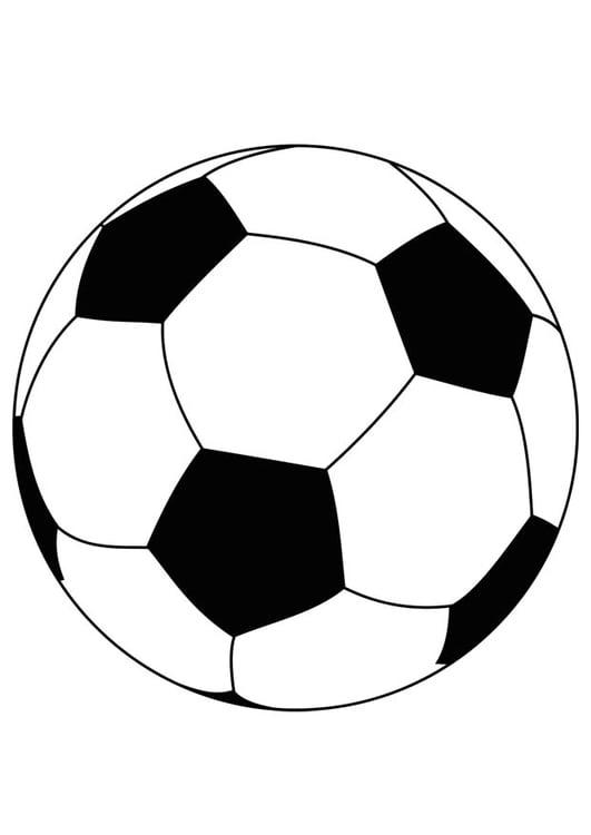 Dibujo Para Colorear Pelota De Fútbol Img 15759