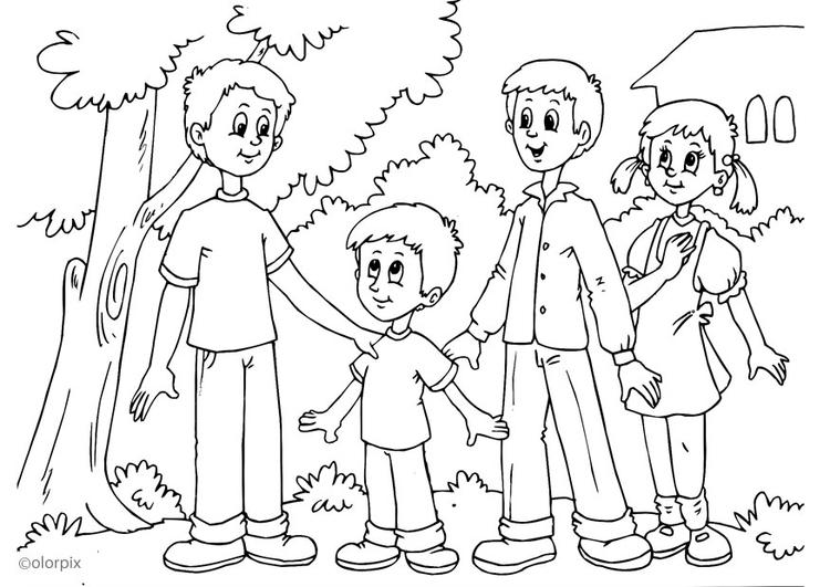 Dibujo Para Colorear Pequeño Img 25899