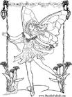 Dibujo para colorear Pequeño elfo