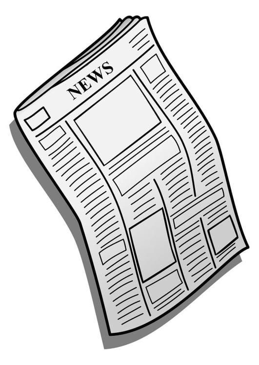 Dibujo Para Colorear Periódico Img 27997