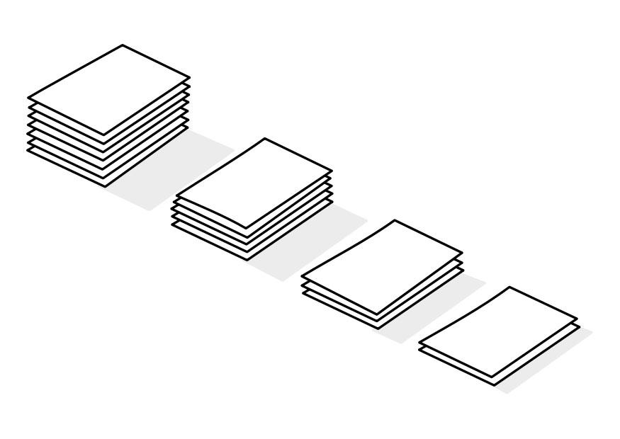 Dibujo para colorear pilas de papel img 22740 - Papel de pintar ...