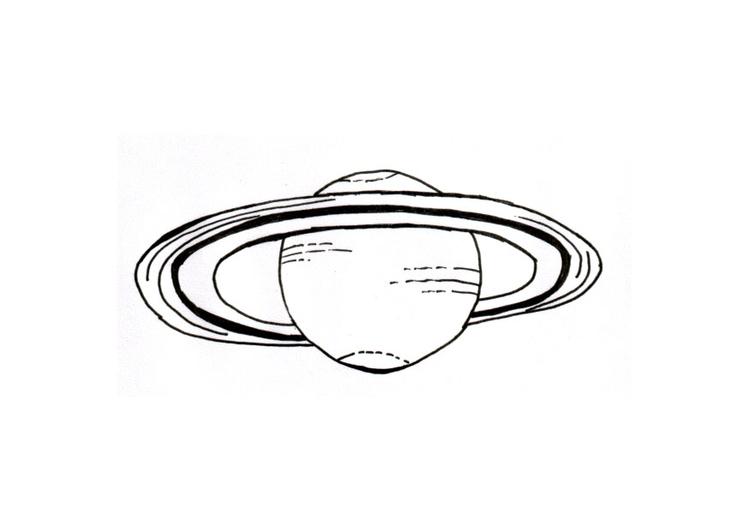 Dibujo Para Colorear Planeta Dibujos Para Imprimir Gratis
