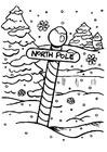 Dibujo para colorear Polo norte