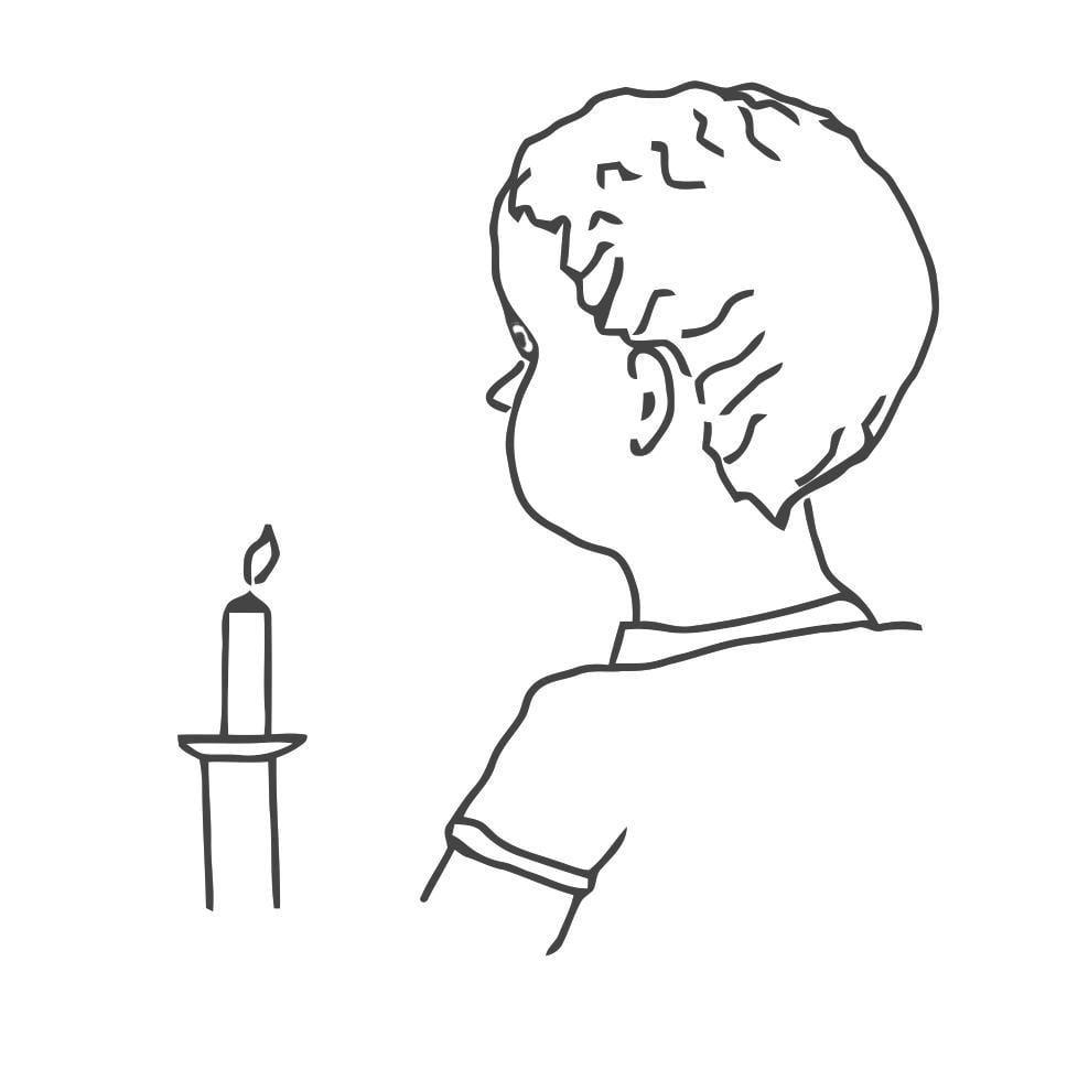 Dibujo para colorear Primera Comunión - Img 21687