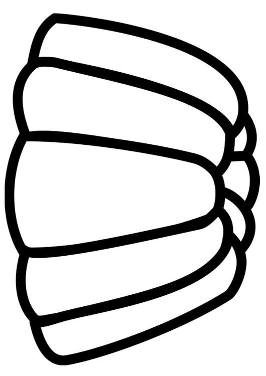 Pudding Coloring Page