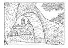 Dibujo para colorear Puente