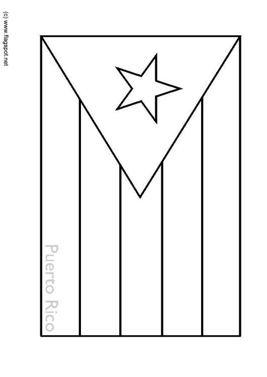 dibujo para colorear puerto rico img 6340