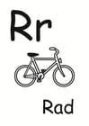 Dibujo para colorear r