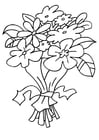 Dibujo para colorear Ramo de flores