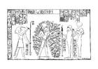 Dibujo para colorear Ramses y el árbol de la vida