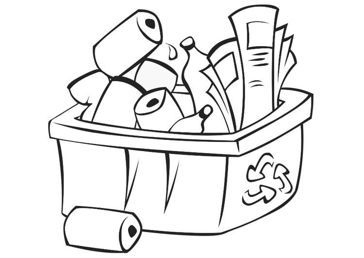 Dibujo Para Colorear Reciclar Img 21775
