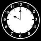 Dibujo para colorear Reloj a las 10