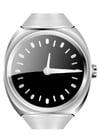 Dibujo para colorear reloj de pulsera