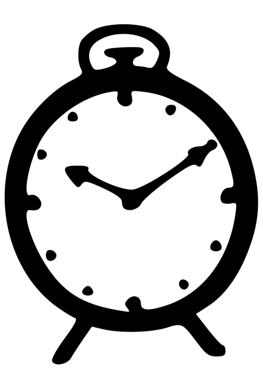 Dibujo para colorear reloj img 22923 - Dibujos de relojes para imprimir ...