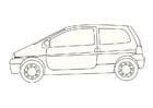Dibujo para colorear Renault Twingo