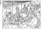 Dibujo para colorear Renoir