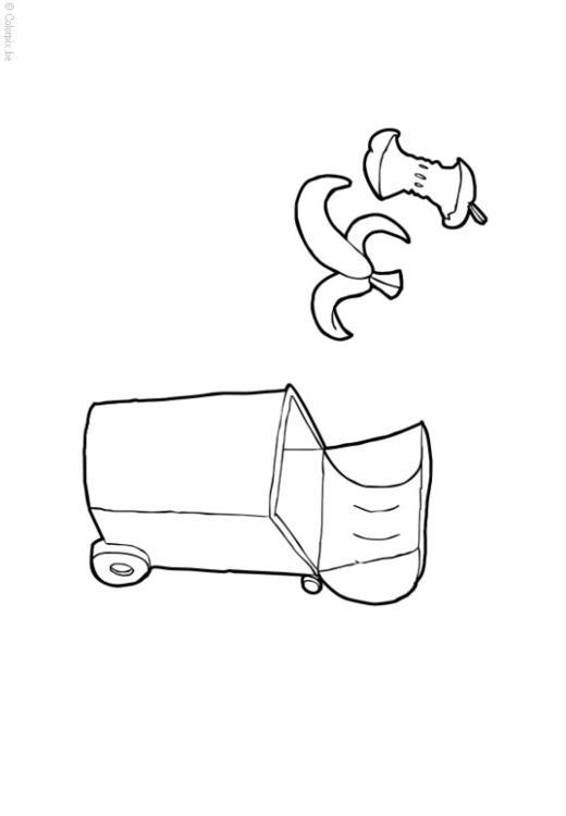 Dibujo para colorear residuos org nicos img 14408 for Suelo organico para dibujar
