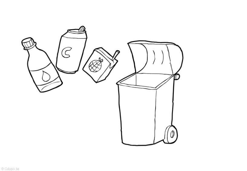Dibujo para colorear residuos s lidos img 14410 for Suelo organico dibujo animado