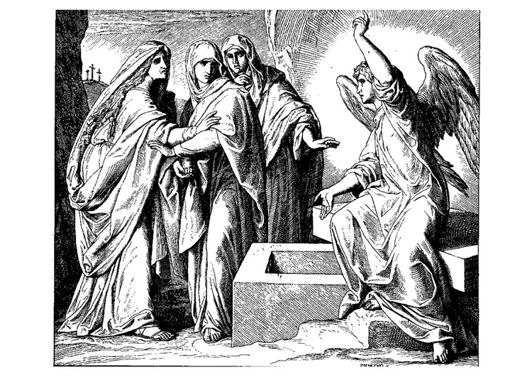 Dibujo Para Colorear Resurrecciã³n De Jesãºs Img 21736 Images