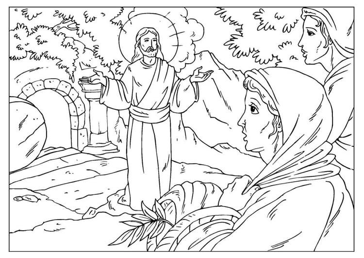 Dibujo Para Colorear Resurrecciã³n De Jesãºs Img 25921 Images