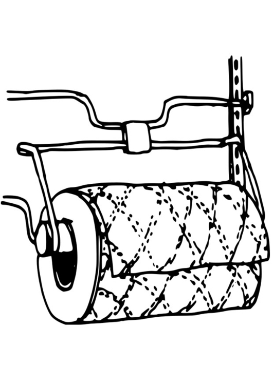 Dibujo para colorear rollo de cocina img 19088 for Dibujos de cocina